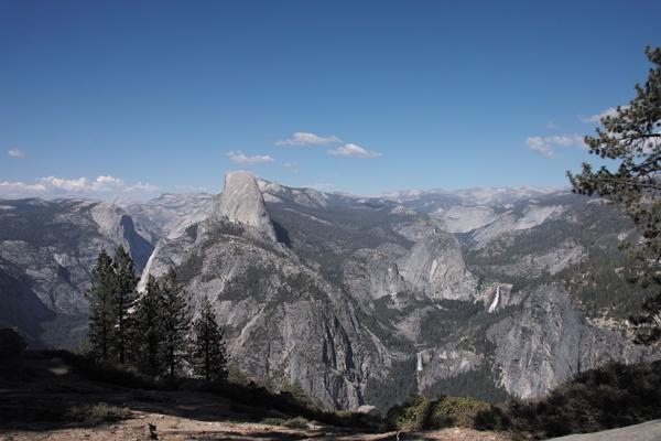Half-Dome-and-Vernal-Falls-Yosemite-National-Park-CA
